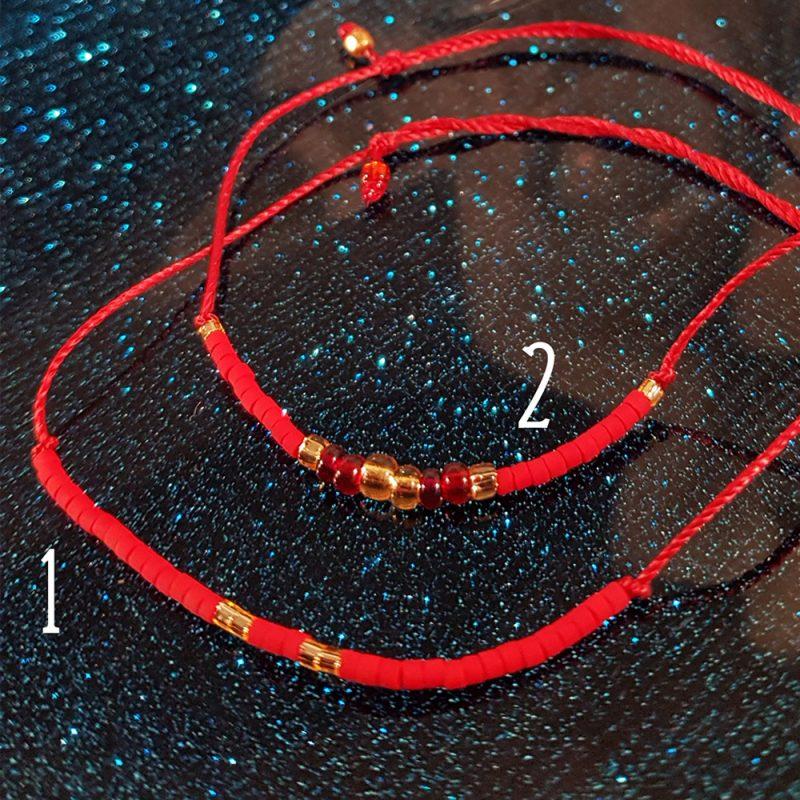 Bracelet Bambou de mer- 1 & 2 - La Géante