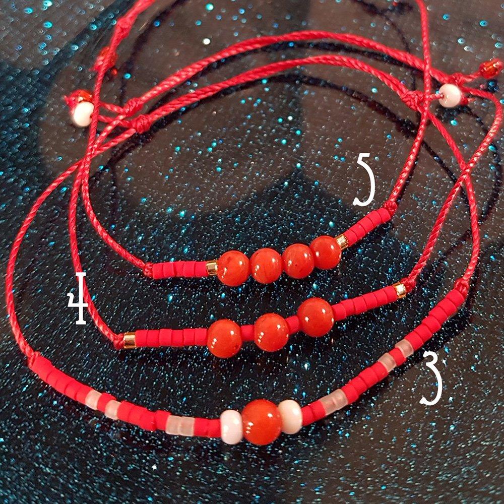 Bracelet Bambou de mer - 3 à 5 - La Géante