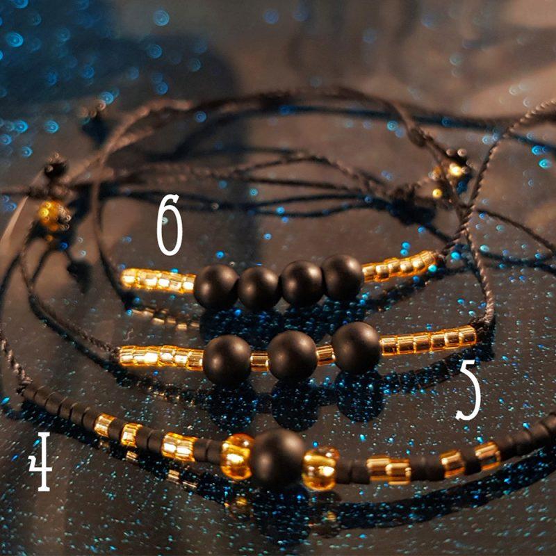 Bracelet Onyx 4 à 6- La Géante